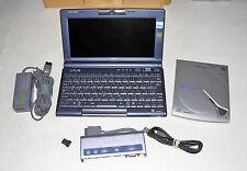 SONY VAIO PCG-C1MR BP C1 PICTUREBOOK CRUSOE TM5600 256MB RAM 20GB HD WEBCAM WIFI
