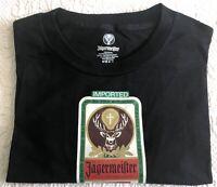 "Men's ""JAEGERMEISTER"" T-Shirt w/Super Rare Vintage Logo Design ~ Size: XL ~ NOS!"