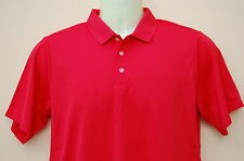 New Boy's Genuine Nike Dri-Fit Polo Shirt Top Size X-Large Red Casual Sport Golf