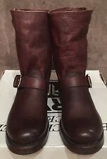 NEW WOMEN FRYE VERONICA SHORT SHORTIE BROWN LEATHER BOOTS SZ 7.5