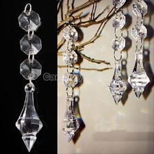 10pcs Acrylic Crystal Bead Hanging Strand Garland Chandelier Trees Wedding Decor