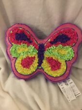 THE ORB FACTORY PLUSH BUTTERFLY CRAFT ARTIS COMPLETED LOTS BRIGHT COLORS GIRLS