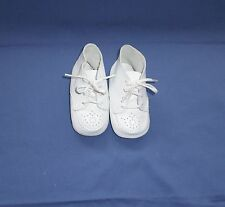STRIDE RITE BABY SHOES White High Tops w Breathing Holes Size 3 Vintage