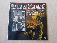 Kontrabass-Konzerte - J.B.Vanhal/E.Urbanner - L.Streicher - TELEFUNKEN  (01482)
