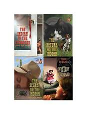 The Indian In The Cupboard Collection Set 1-4 Juvenile Adventure Fiction Books!!