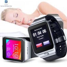 Indigi® 2-in-1 GSM + Bluetooth Sync Smart Watch w/ Pedometer Sleep Monitor Radio