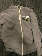 Cash Cab Zip Up Sweatshirt Tv Show Size Xl