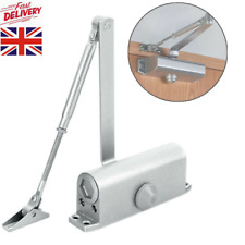 Heavy Duty Adjustable Metal Fire Rated Door Closer Automatic Closing Hardware UK