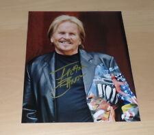 (SV1) Frank Zander *Hier kommt Kurt*, original signiertes Foto 20x25 cm
