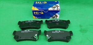 HI-Q SSANGYONG MUSSO SUV 2.9 L TURBO DIESEL REAR BRAKE PAD SET