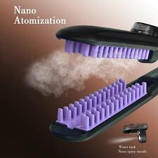 Lisseur Peigne Intégré Brosse Lissante Brushing Fer à Boucler Lissers + Steampod