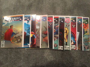 DC Superman All-star Issue #1-12 (1 2 3 4 5 6 7 8 9 10 11 12) (VF)