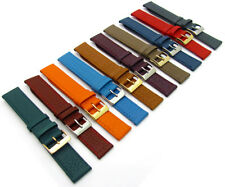 Super Soft Cow Hide Leather Watch Strap by Condor 348R 16mm to 22mm 10 Colours!
