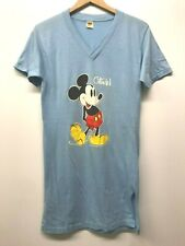 Vintage Ladies Disney Mickey Mouse / One Piece Tee, Size L, 80's a-84