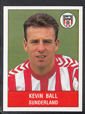Panini 1991 Pegatinas de fútbol-Pegatina Nº 304, Kevin Bola, Sunderland