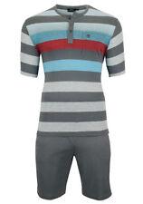 Gestreifte Herren-Pyjama-Sets in Größe 50