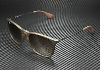 RAY BAN RB4187 856 13 Chris Rubber Havana Brown Gradient 54 mm Men's Sunglasses