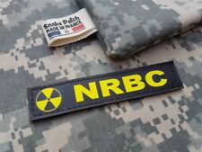 "SNAKE PATCH - Bande Patronymique "" NRBC "" dragon NUCLEAIRE milsim AIRSOFT T3P"