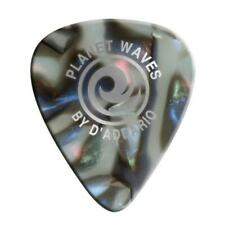 D'Addario / Planet Waves 1CAB2-10 Abalone Celluloid Guitar Picks 10 pack, Light