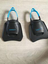 Speedo Training Flippers Size 2-4 Open Toe Junior Adult Swimming Bag