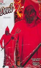 abito, costume di carnevale HALLOWEEN, DIAVOLO, DEVIL (5-7 ANNI) ALTEZZA cm.128