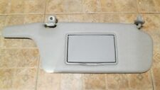 MAZDA PROTEGE 5 SUN VISOR PASSENGER SIDE RIGHT OEM GRAY VINYL