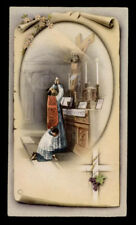 santino -holy card ediz.NB  serie P n.2524 LA SANTA MESSA