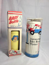 Vintage Baby Bottle and Warmer Very Rare