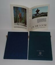 ON THE LOOSE By Jerry & Renny Russell Soft Cover w/ Slipcase.  Freedom, Hippies