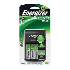 Energizer AA and AAA Battery Charger with 4x AA 1300mAh Rechargeable Batteries