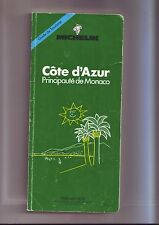 Guide michelin cote d'azur /principauté de monaco -