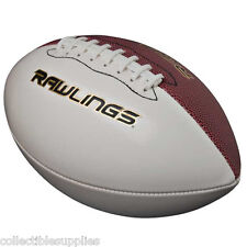 New Rawlings Autograph White Panel Full Size Football