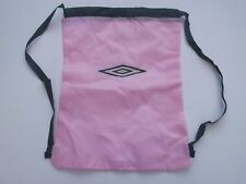 Pink Umbro Gym Bag girls / womens swim bag / kit bag brand new