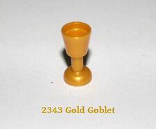 LEGO 2343 Gold Goblet - Pack of 6 - Best offer