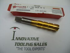 M 16 X 1.5 6 FL H10  Hand Segmented TIN Coated High Speed Steel Bottom Tap Bruba