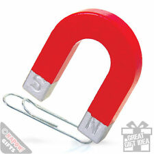 Horseshoe Magnet - Traditional toy or game. Kids science magnet. Great gift
