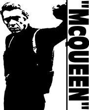 Sticker Steve Mc Queen Bullit 100 - 57x71 cm