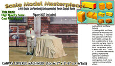 CANVAS COVERED MACHINERY/FLATCAR LD (1pc) Scale Model Masterpieces Sn3/Sn2/1:64