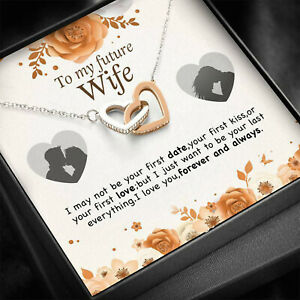 To My Future Wife, I Love You Forever and Always, Love Hearts Pendants, Jewelry