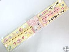 New Skater Kanahei Chopsticks 21cm Pink Bamboo Lunch Bento Box Kawaii From Japan