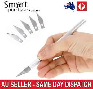 Exacto Knife Style 6 Blades x-acto Hobby Tool Crafts Cutting Scalpel Durable v