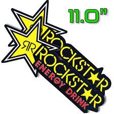 "*11""X2P. BIG ROCKSTAR ENERGY DRINK DECAL STICKER PRINT DIE-CUT AUTO MOTOR SPORT"