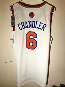 Adidas NBA Swingman New York Knicks Tyson Chandler Jersey White 3XL
