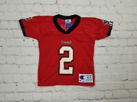 Tampa Bay BUCCANEERS NFL Chris Simms Champion Football Jersey Toddler 4T Kids