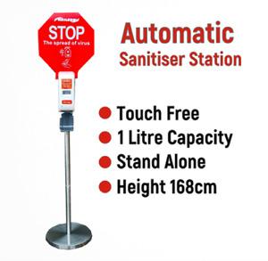 Standalone Automatic Hand Sanitiser Dispenser for Touch Free Sanitising