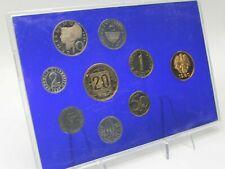 PRAGER: Österreich, 10x Schilling-Münzensatz 1980 bis 1989 [Y58] #k