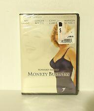 Monkey Business (DVD, 2002) Marilyn Monroe Cary Grant Ginger Rogers NEW REGION 1