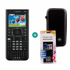 Ti nspire CX CAS Calculatrice graphique Ordinateur + Sac de Protection et Film Protecteur
