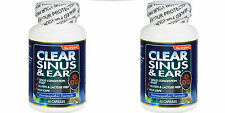 Clear Products Clear Sinus And Ear - 60 Capsules (Paks of 2)