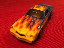 Vintage 1982 Hot Wheels Camaro Blue with Flames Tampo  Malaysia
